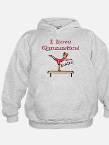 I Love Gymnastics (Elaine) Hoodie