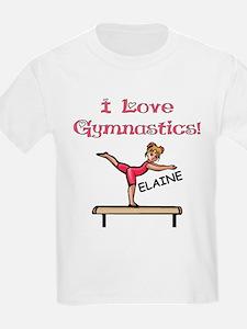 I Love Gymnastics (Elaine) T-Shirt