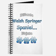 Welsh Springer Not Journal