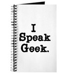 I Speak Geek Journal
