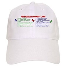 Appenzeller Property Laws 2 Baseball Cap
