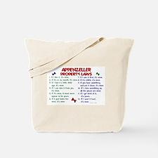 Appenzeller Property Laws 2 Tote Bag