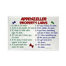 Appenzeller Property Laws 2 Rectangle Magnet