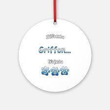 Griffon Not Ornament (Round)