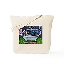 Australian Shep Blue Merle Ba Tote Bag