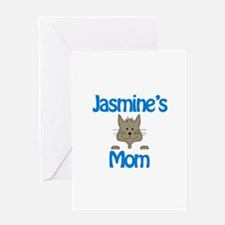 Jasmine's Mom Greeting Card