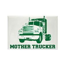 mother trucker Magnets