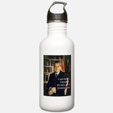 nixon and hillary clinton Water Bottle