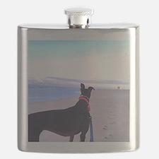 Unique Greyhound Flask