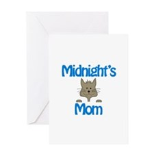 Midnight's Mom Greeting Card