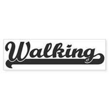 Walking (sporty) Bumper Bumper Sticker