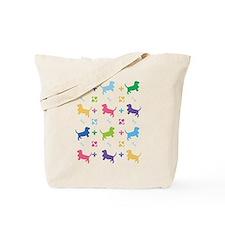 Basset Hound Designer Tote Bag