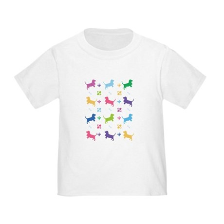 Basset Hound Designer Toddler T-Shirt