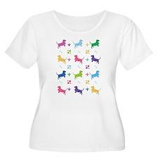 Basset Hound Designer T-Shirt