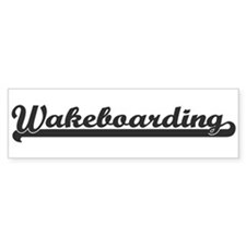 Wakeboarding (sporty) Bumper Bumper Sticker