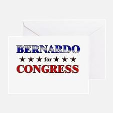 BERNARDO for congress Greeting Card
