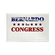 BERNARDO for congress Rectangle Magnet