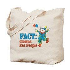 clowns eat people Tote Bag