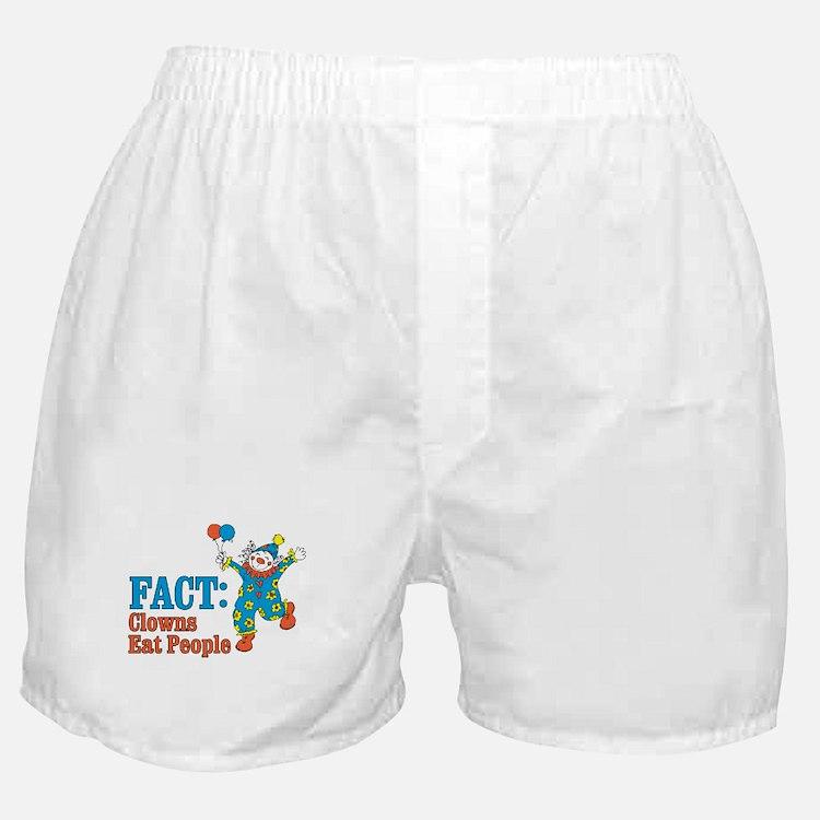 clowns eat people Boxer Shorts