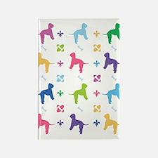 Bedlington Terrier Designer Rectangle Magnet
