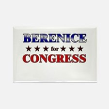 BERENICE for congress Rectangle Magnet