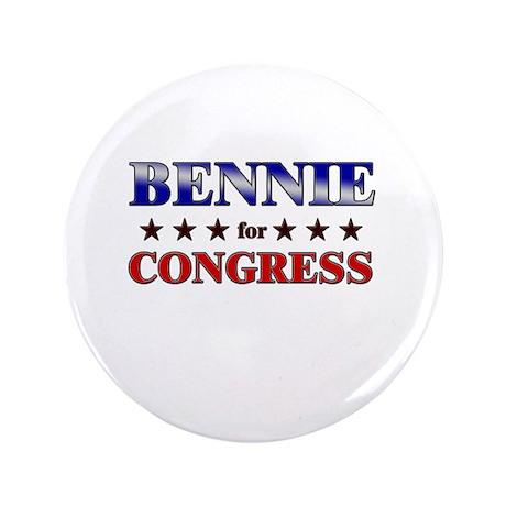 "BENNIE for congress 3.5"" Button"