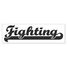 Fighting (sporty) Bumper Bumper Sticker