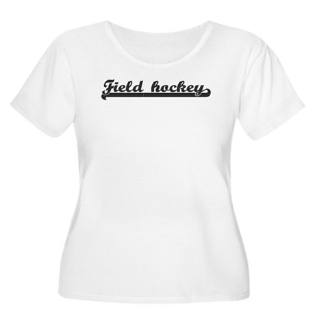Field hockey (sporty) Women's Plus Size Scoop Neck