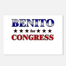 BENITO for congress Postcards (Package of 8)