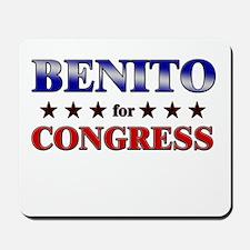 BENITO for congress Mousepad