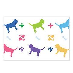 Bloodhound Designer Postcards (Package of 8)