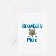 Snowball's Mom Greeting Card