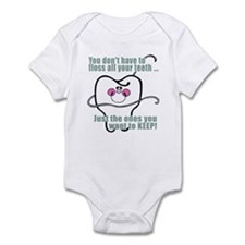 You don't have to floss Infant Bodysuit