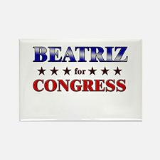 BEATRIZ for congress Rectangle Magnet