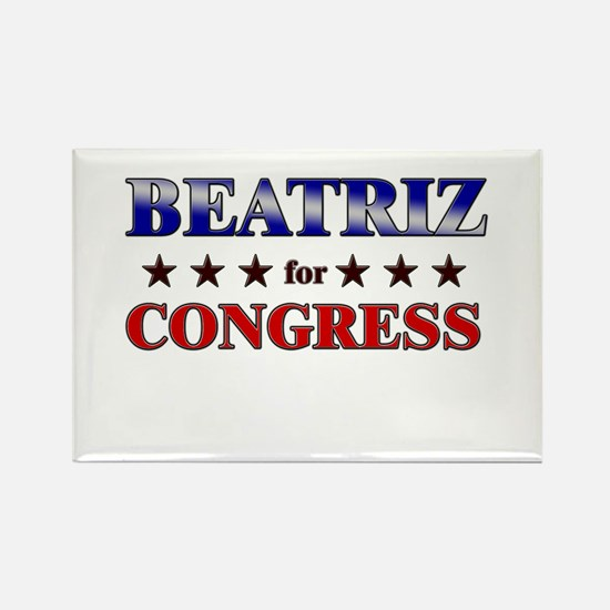BEATRIZ for congress Rectangle Magnet
