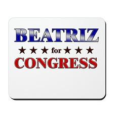BEATRIZ for congress Mousepad