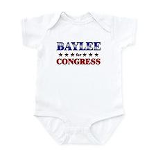 BAYLEE for congress Infant Bodysuit