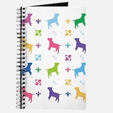 Bull Terrier Designer Journal