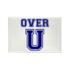 Over U Rectangle Magnet (10 pack)