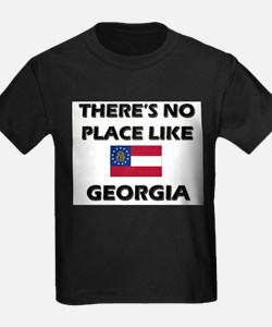 There Is No Place Like Georgia Ash Grey T-Shirt