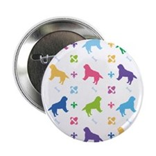 "Burmese Mountain Dog Designer 2.25"" Button"