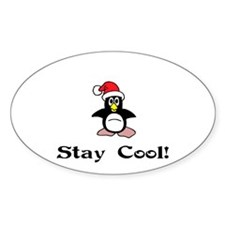 Stay Cool Oval Decal
