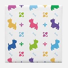 Cairn Terrier Designer Tile Coaster
