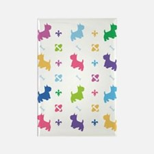Cairn Terrier Designer Rectangle Magnet