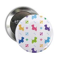 """Cairn Terrier Designer 2.25"""" Button"""