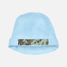 bohemian tribal southwestern cowhide baby hat
