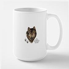 Wolf Totem Animal Guide Watercolor Nature Art Mugs