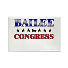 BAILEE for congress Rectangle Magnet