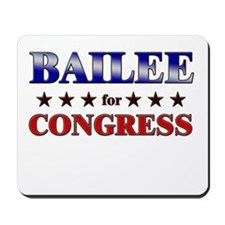 BAILEE for congress Mousepad