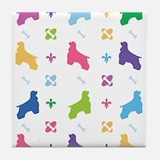 Cocker Spaniel Designer Tile Coaster